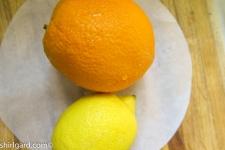 Flavorings: Orange & Lemon Zest + Vanilla Extract