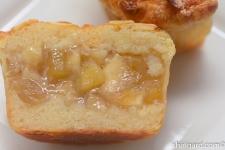 Apple Financier Cake