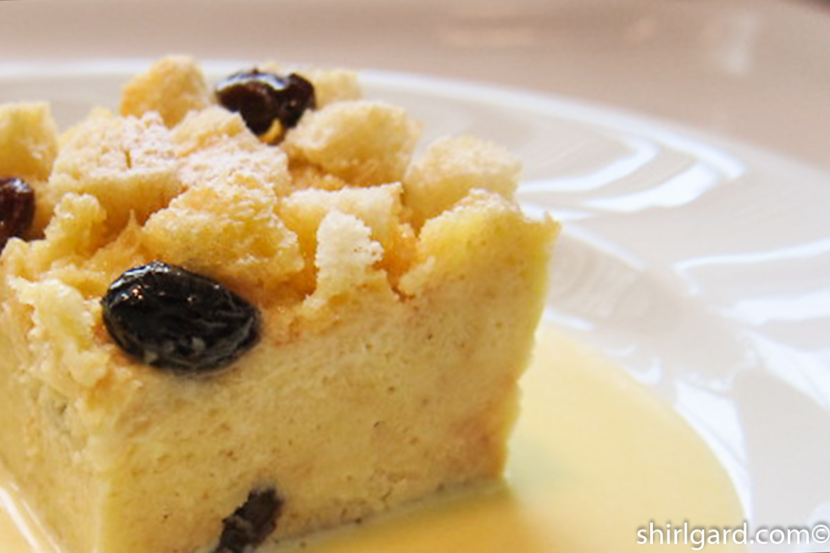 Sally Lunn Bread Pudding