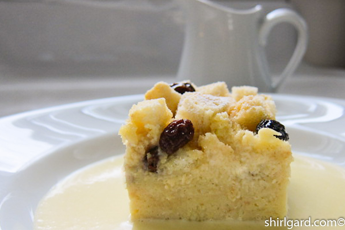 Sally Lunn Bread Pudding
