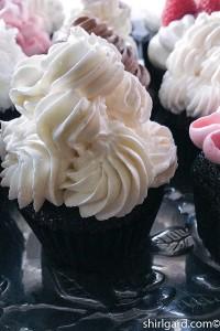 Black & White: Devil's Food Cupcake