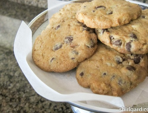 Chocolate Chip Cookies with Coconut Oil