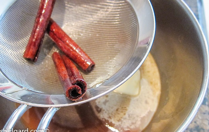 Cinnamon Sticks for the Cinnamon Syrup