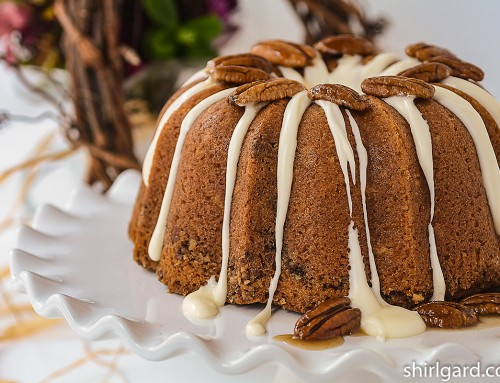 Cinnamon Pecan Bundt Cake